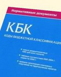 Коды бюджетной классификации на 2017 год