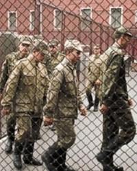 Исполнение специальных наказаний в отношении военнослужащих