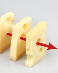 Используйте метод швейцарского сыра