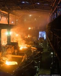 Изменение показателей черной металлургии России