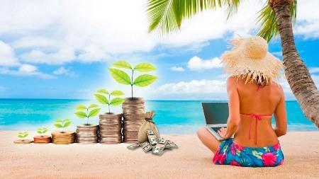 Как заработать во время отдыха на море