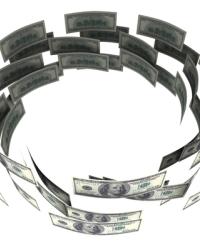 Обращение денег