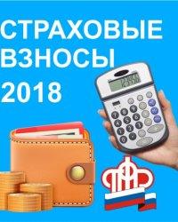 Страховые взносы 2018