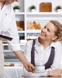 Удовлетворение желаний клиентов в ресторане