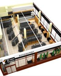 Внутренняя планировка магазина