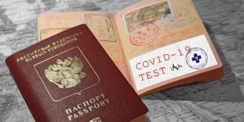 Введение ковидных паспортов в 2021 году