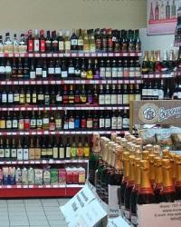 Выкладка алкогольной продукции