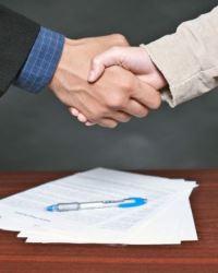 Заключенные контракты