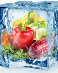 Замороженные продукты: ассортимент и способы представления